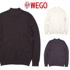 [WEGO] Half Turtle Neck Knit