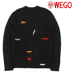 [WEGO] Point Black Knit