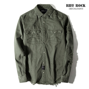 [MIDWEST]Riff RocK destroy NB Shirts 2018FW