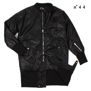 [NO.44] Leather Duck Long Coat 가죽오리털 롱코트