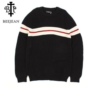 [BEEJEAN] Red Line Knit 레드라인니트