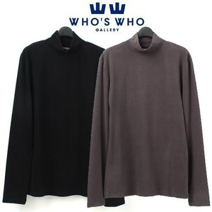 [WHO'S WHO] Span Half Turtleneck Sweat 하프터틀넥