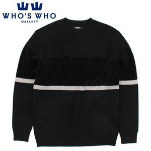 [WHO'S WHO] RIPOLO LINE KNIT 라인니트