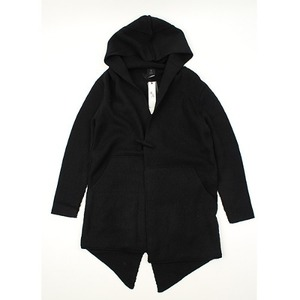 [TI] HOOD LONG OPEN KNIT  후드롱오픈니트