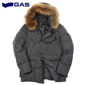 [GAS] Raccoon Fur Hood Down Padding GY 가스 라쿤퍼후드다운패딩