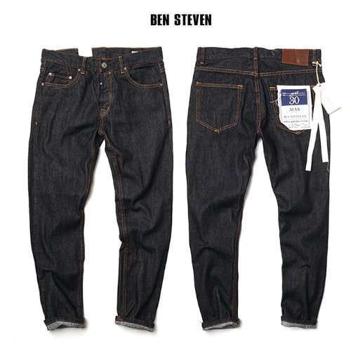[BEN STEVEN] DARK SLIM DENIM