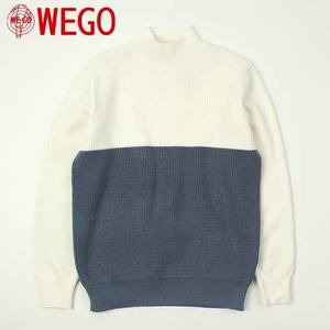 [WEGO] 2 Color Halfneck Knit 하프넥니트