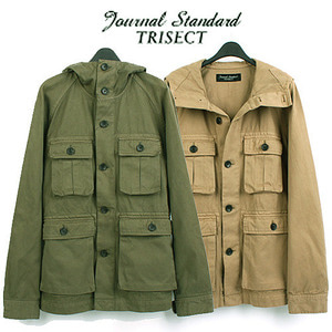 [JOURNAL STANDARD-TRISECT]  S/S Millitary Hood Jumper  저널스탠다드 고급라인