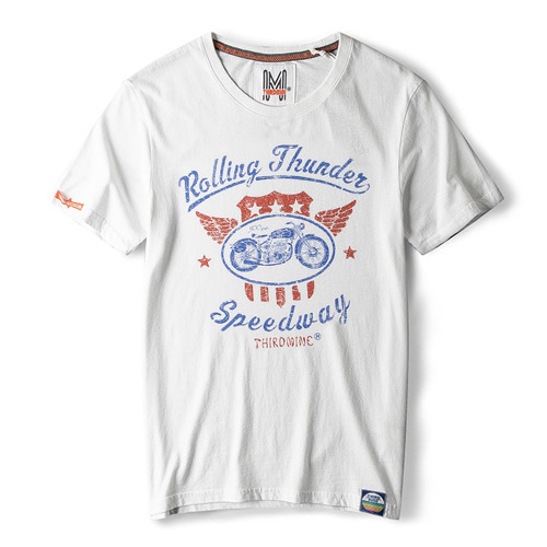 [THIRD MINE] Rolling Thunder S/S Tee