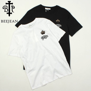 [BEEJEAN] Crown Pig S/S Tee 비진 크라운피그티