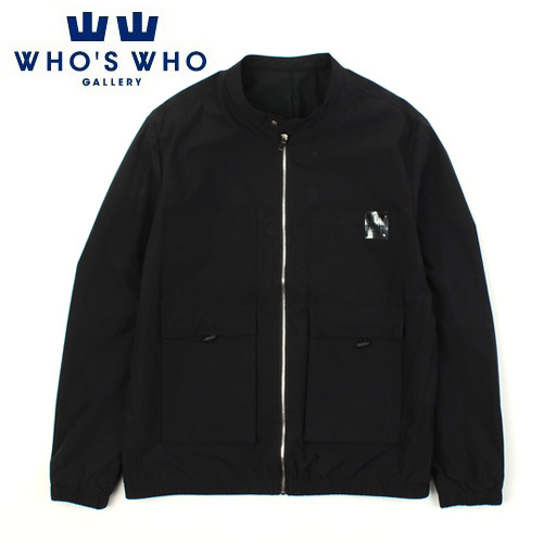 [WHO'S WHO] China Collar Pocket Jacket 포켓자켓