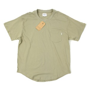 [WTAPS/STOCK] OLIVE POCKET T