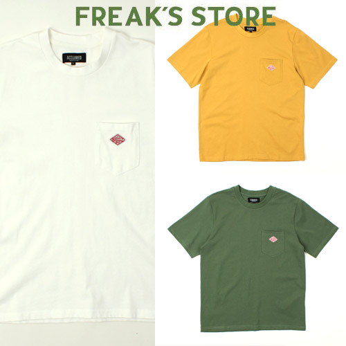 [FREAK'S STORE] ACQUIRED Embo Pocket S/S Tee 자수포켓티