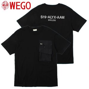 [WEGO] Zip Pocket Overfit Tee 포켓오버핏티