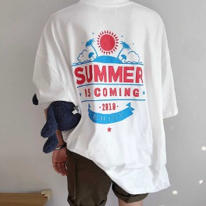 [ARCATO] SUMMER OVER FIT T-SHIRTS 오버핏 프린팅티셔츠