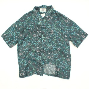 [ARCATO] FLOWER SUMMER POCKET SHIRTS