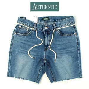 [AUTHENTIC] String Damage Short Denim 스트링숏데님
