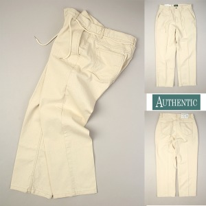 [AUTHENTIC] NATURAL WIDE PANTS