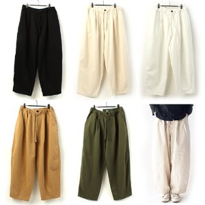 [AUTHENTIC] BALLOON COTTON WIDE PANTS 와이드 벌룬팬츠