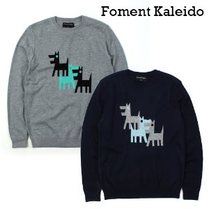 [Foment Kaleido] 3 Wolf Wool Knit 울프울니트