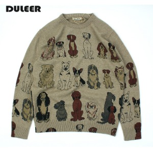 [DULEER] DOG'S KNIT