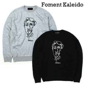 [Foment Kaleido] Face Wool Knit 페이스울니트