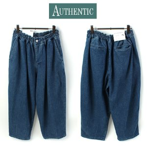 [AUTHENTIC] BALLOON WASHING BLUE WIDE PANTS 와이드 벌룬팬츠