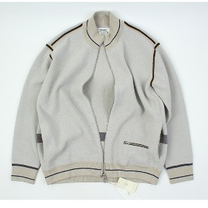 [ARCATO] KNIT Zip-up Blouson
