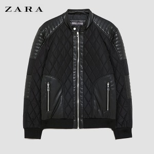 [ZARA] CONTRASTING QUILTED JACKET 자라퀼팅자켓