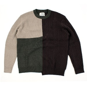[ARCATO] Triple color KNIT