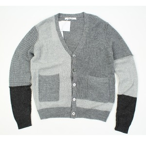 [PHILIP.ROTH] Lambswool gy cardigan 울혼방가디건