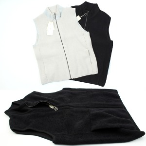 [ARCATO] KNIT ZIP-UP VEST
