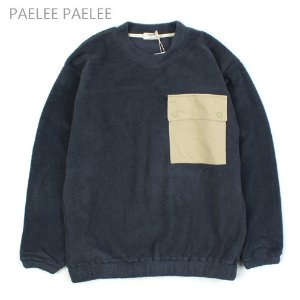 [PAELEE] BIG POCKET FLEECE MTM  플리스맨투맨(오버핏)