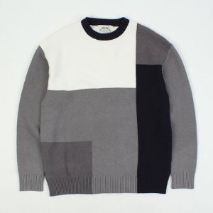 [ARCATO] PATTERN KNIT