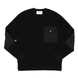 [ARCATO] BLACK POCKET KNIT