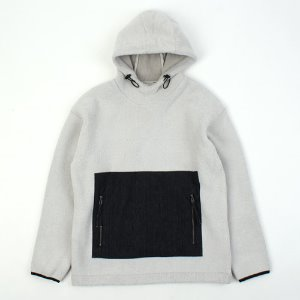 [ARCATO] FLEECE POCKET HOOD 플리스포켓후드