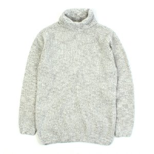 [ARCATO] WOOL TURTLE NECK KNIT