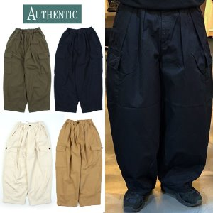 [AUTHENTIC] BALLOON CARGO WIDE PANTS 와이드 카고벌룬팬츠