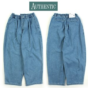[AUTHENTIC] BALLOON WASHING LIGHT BLUE WIDE PANTS 와이드 벌룬팬츠