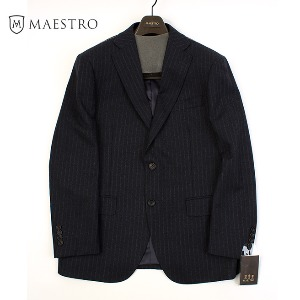 [MAESTRO] STRIPE 2BUTTON BLAZER (100-85-170)