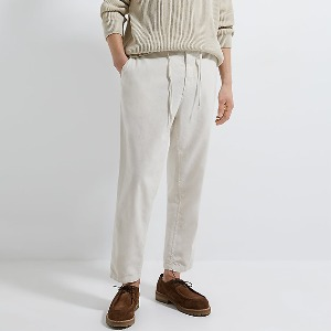 [ZARA] CROPPED RUSTIC TROUSERS