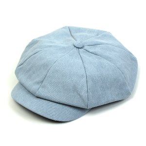 [UNIVERSAL CHEMISTRY] Washing Denim Newsboy Cap 유니버셜케미스트리 뉴스보이캡