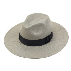 [UNIVERSAL CHEMISTRY] Gray Long Summer Fedora 유니버셜케미스트리 여름페도라