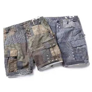 [MORATA TOLKINE] PATCHWORK SHORT PANTS 모라타 패치워크반바지