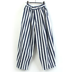 [AUTHENTIC] BOLD STRIPE BALLOON WIDE PANTS 와이드 벌룬팬츠