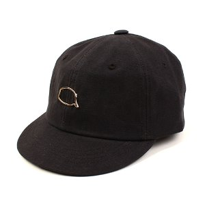 [UNIVERSAL CHEMISTRY] Bubble Black Bike Cap 유니버셜케미스트리 바이크캡