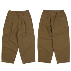 [WHO'S WHO] Cotton Khaki Wide Banding Pants 카키와이드팬츠