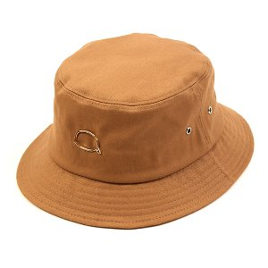 [UNIVERSAL CHEMISTRY] Bubble Beige Short Bucket Hat 유니버셜케미스트리