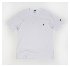 [Champion×BEAMS] BEAMS Pocket T 챔피온×빔스 WHITE/M(95~100) LAST