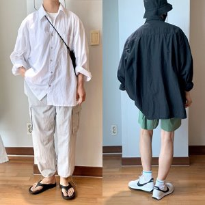 [THEJOON] Bio Washing Overfit Shirts 워싱오버핏셔츠